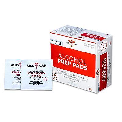 b92b92ba48c48 Made In USA! Alcohol Prep Pad Individual Sealed 200 400 1200 2000 4000  Med-Nap | eBay