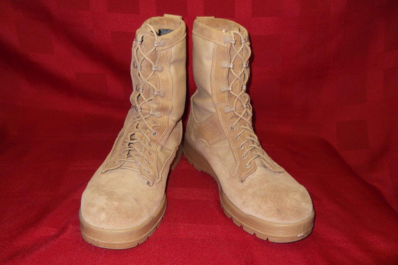 botas militares 12.5R Bates Gore-tex Combate Desierto Bronceado Hombres Muchachos caza de trabajo 360