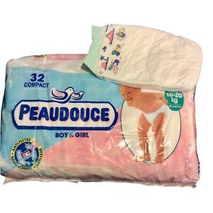 Vintage Peaudouce Plastic Backed Diaper Size Maxi Plus