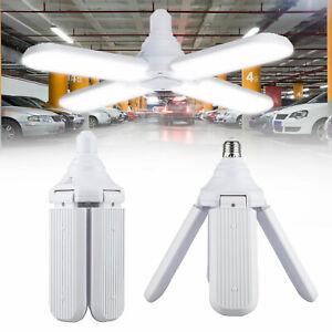 E27-Deformable-LED-Garage-Light-6500lm-Radar-Motion-Ceiling-Lamp-Lights-Bulb-USA