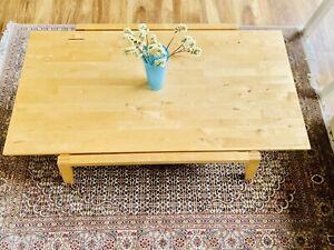 Ikea Couchtisch Lillberg Raritat Tische Birke Massiv Wohnzimmertisch Ebay