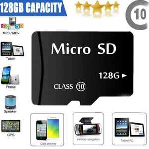 128GB-Micro-SD-SDHC-Speicherkarte-inkl-SD-Kartenadapter-Class-10-UNIVERSAL-NEU