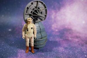 VINTAGE Star Wars COMPLETE RADAR LASER CANNON MINI RIG + ACTION FIGURE KENNER