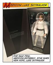Medicom ENTERBAY Star Wars Luke Skywalker RAH Not Complete 1/6 12 in Scale Toys