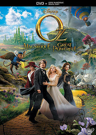 Oz The Great And Powerful DVD, 2013, Includes Digital Copy  - $2.49