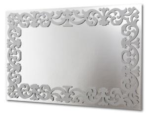 Specchi Moderni Da Parete.E067 Specchio Design Moderno Da Parete Decorativo Rettangolare Arg
