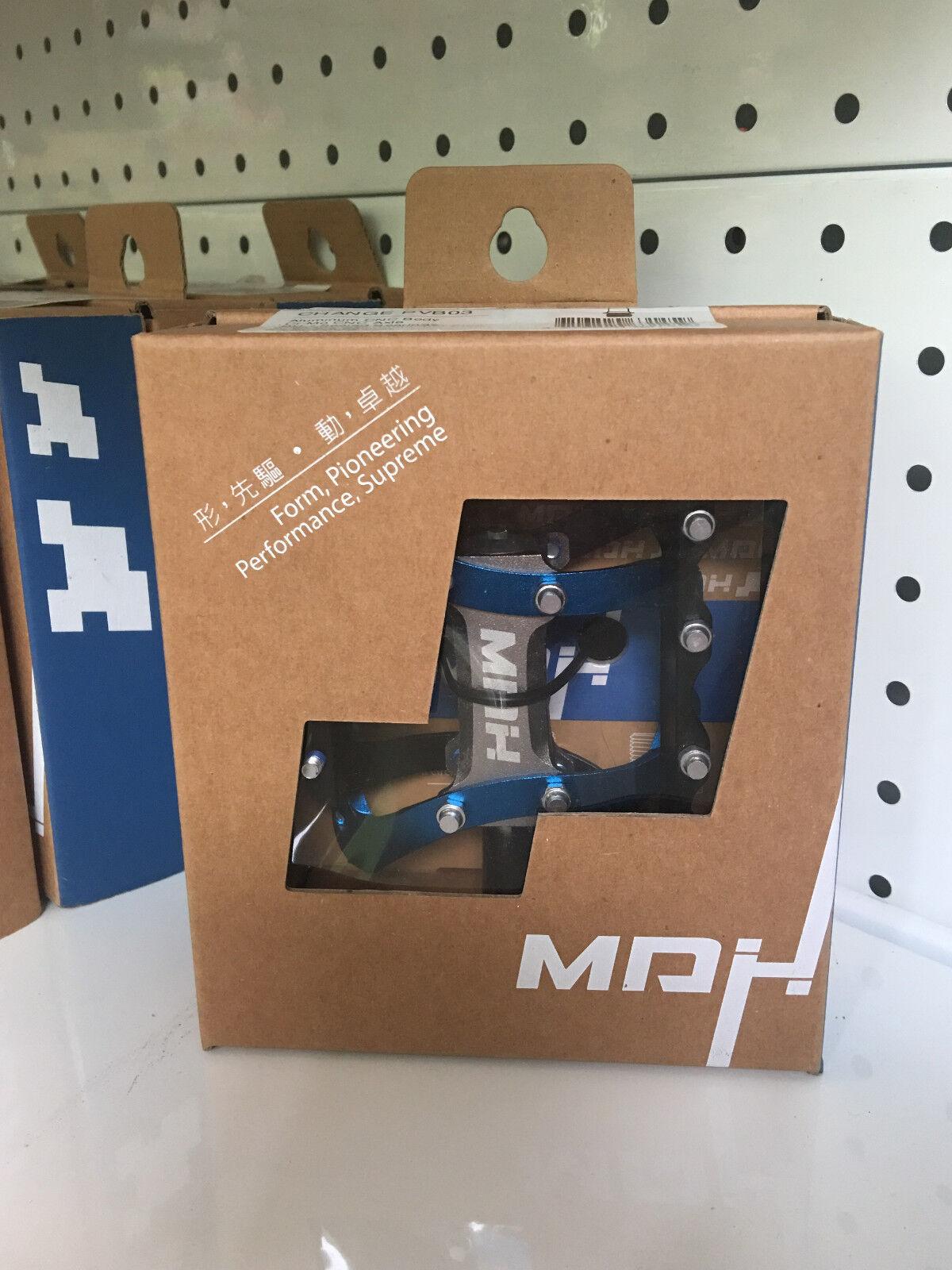 MDH cambio  PVB03 pequeña área CNC Aluminio Pedal De Bicicleta (Negro Azul)  compras de moda online