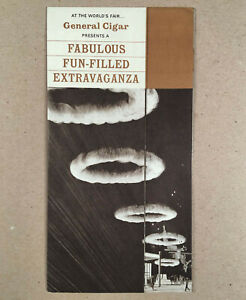 c-1964-NY-World-039-s-Fair-Mark-Wilson-GENERAL-CIGAR-HALL-OF-MAGIC-Fold-Out-Brochure
