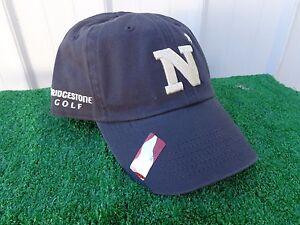NCAA Navy Midshipmen Navy Football Adult Flex Fit Cap Hat S//M