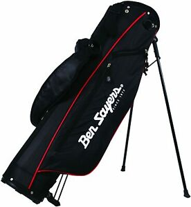 "Ben Sayers 6"" Deluxe Stand Bag Black/Red"
