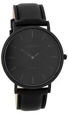OOZOO Vintage Armbanduhr Schwarz C7742