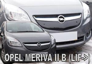 OPEL-GM-VAUXHALL-MERIVA-II-B-2014-2017-Front-grill-winter-cover-HEKO-04072