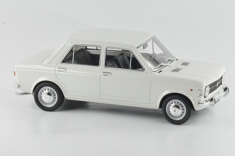 LAUD112A FIAT 128 LIMOUSINE 1969 Weiß