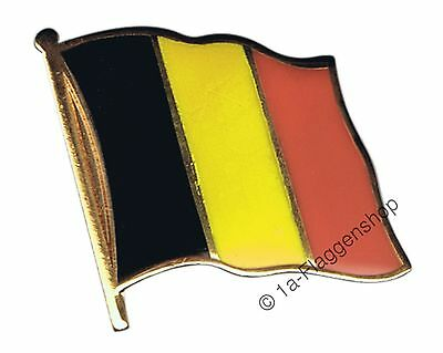 Belgium Flag Pin Badge