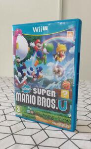 Jeu Super Mario Bros U Wii U  Nintendo Excellent Etat