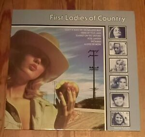 Various-First-Ladies-Of-Country-Vinyl-LP-Compilation-33rpm-1980-CBS-32235