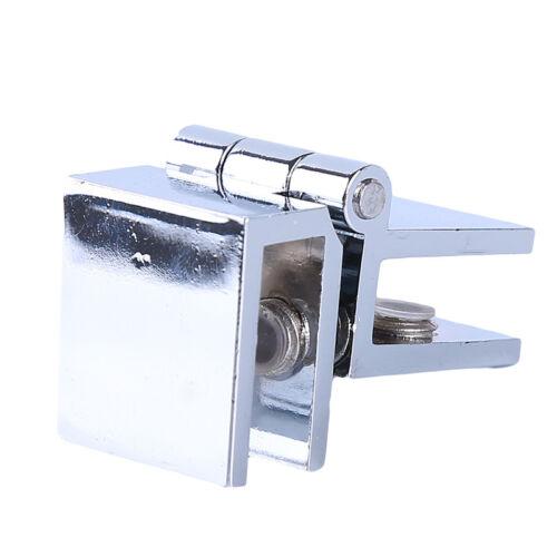 Cabinet Cupboard Clamp Hinge Hardware Bathroom Shower Glass Door Hinges WO