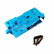 Airsoft Army Force CNC Ball Bearing Gearbox for G&D DTW / Systema PTW AEG Blue