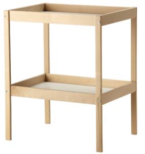 Ikea Sniglar Wickeltisch Buche Schrank Kind Zimmer Baby Tisch
