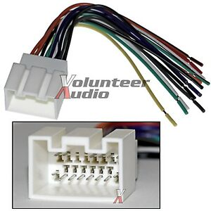 ford lincoln car stereo cd player wiring harness wire. Black Bedroom Furniture Sets. Home Design Ideas