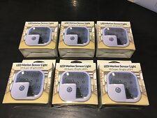 6-pack, Wireless LED Motion Sensor Light 10 Led Super Bright, Home Security