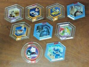 Disney-Infinity-1-0-2-0-3-0-Power-9-Disc-Lot-Xbox-ONE-360-PS4-PS3-Wii-U-3DS