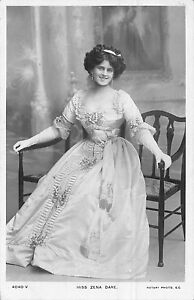 POSTCARD-ACTRESSES-ZENA-DARE