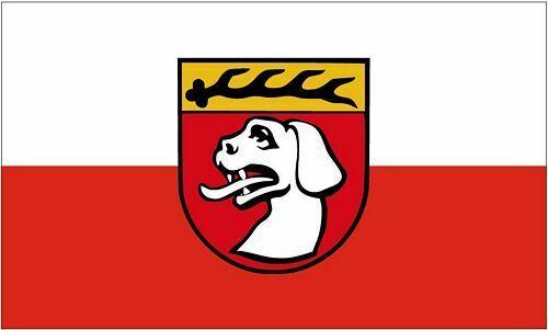 Flagge Fahne Urbach Rems Hissflagge 90 x 150 cm