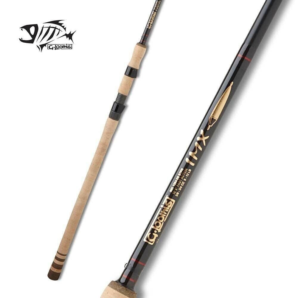 G Loomis IMX Steelhead Float Spinning Rod 1262-2S 10'6  Medium Light 2pc
