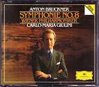 Carlo Maria GIULINI: BRUCKNER Symphony No.8 Wiener Philharmoniker Sinfonie 2CD