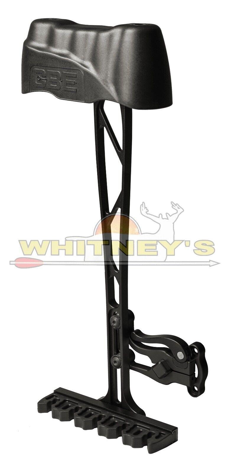 CBE Personalizado arco equiptment Mod 5 Cochecaj compacto negro se adapta a todas las cabezas anchas