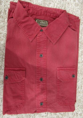3XL Red 4XL L XL 2XL Green C.E Schmidt Men/'s Work Wear Shirt Tan Blue  M