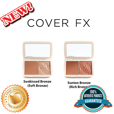 CoverFX Sunkissed Bronze Monochromatic Bronzer Duo Review