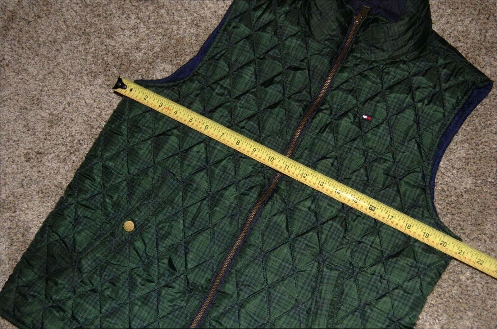 Vintage Tommy Hilfiger Quilted Reversible Women's… - image 4