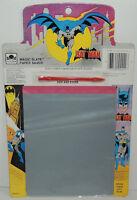 Unused Vintage 1989 Batman Magic Slate Paper Saver Golden
