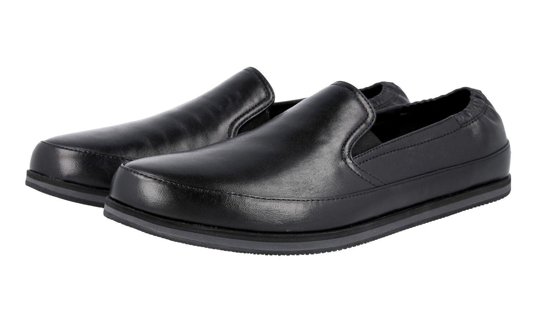shoes PRADA LUXUEUX 4D2806 black NOUVEAUX 7,5 41,5 42
