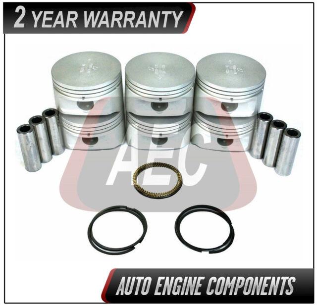 Piston & Ring Fits Ford Mazda Explorer B4000 4.0 L  SOHC - SIZE 040