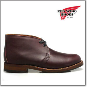 2d3ddb272f4ef Details about Red Wing Heritage 9032 Men's Beckman Chukka Boot (Blk Cherry  Featherstone Lthr)