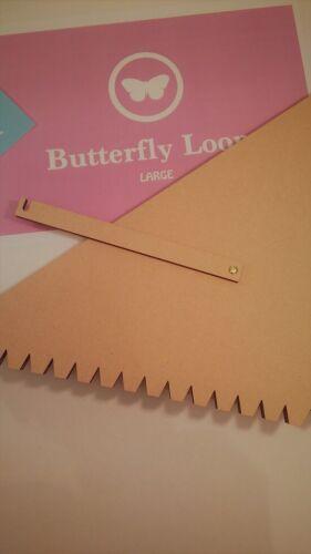 Telar De Mariposa-Tamaño Grande Telar para tejer a mano