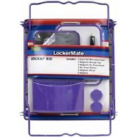 Lockermate 7 Piece Locker Kit, Available In Four Colors