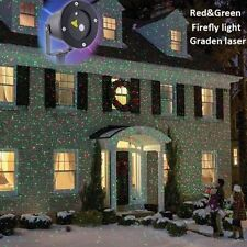 New R&G Laser Projector Landscape Light Outdoor Garden Lawn LED Lamp Waterproof