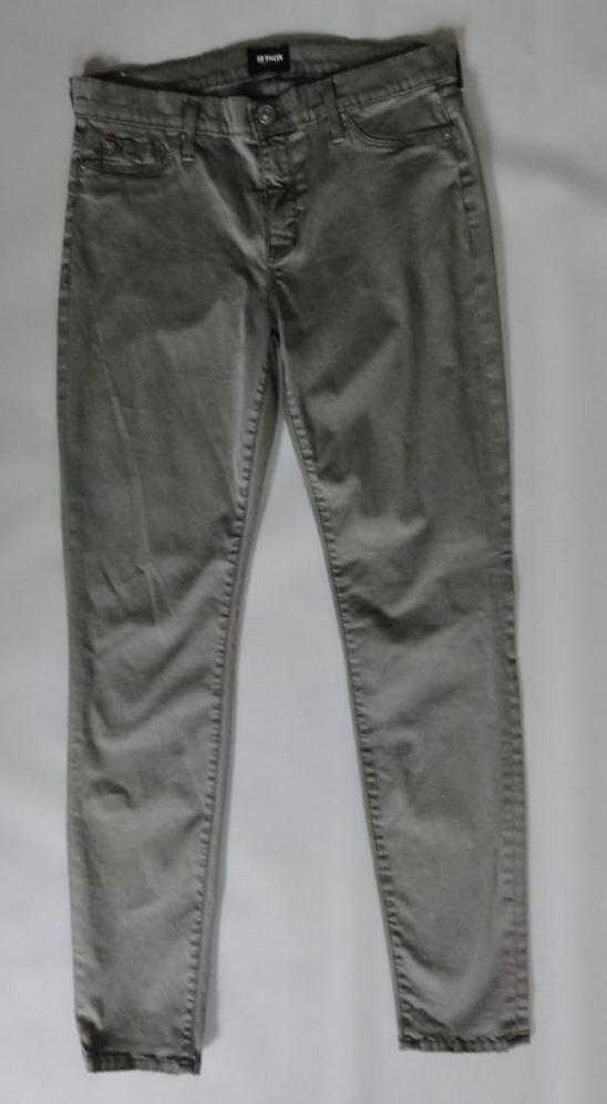 HUDSON MIDRISE NICO SUPER SKINNY JEANS, Green, Size 29, MSRP  245