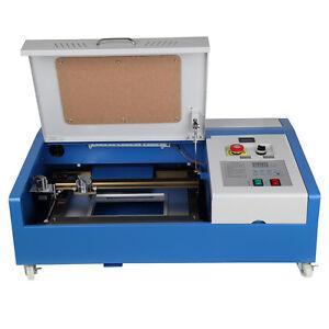 40w usb co2 contr le num rique d coupe laser cutter gravure machine gravure ebay. Black Bedroom Furniture Sets. Home Design Ideas