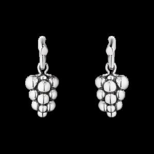 Georg Jensen Moonlight raisins oxydé Argent sterling Boucles d/'oreilles 3537834