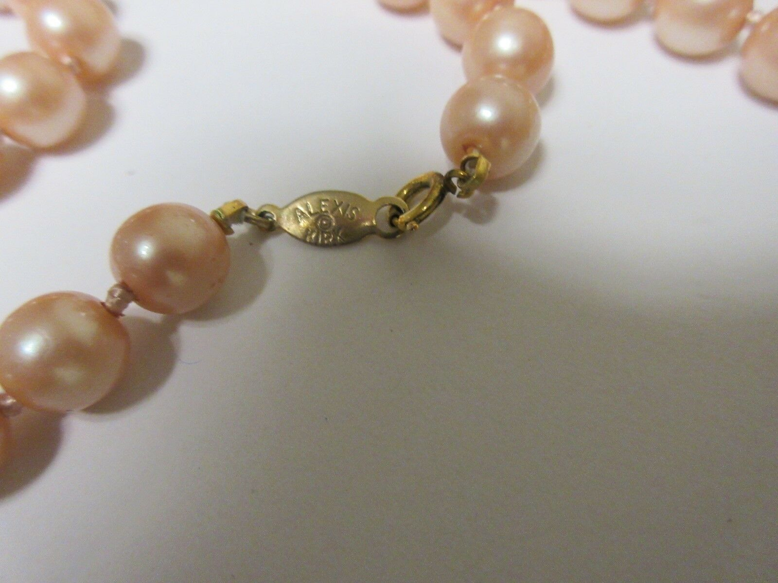 Costume Jewelry , Necklace , Alexis Kirk , Brown & Pink