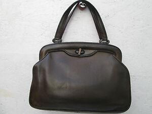 beg Authentique Bag Milano Main Vintage t Cuir À montenapoleone Sac 6rq0w6Y