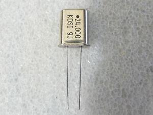 Quartz 4,096 000 Mhz Boîtier hc49u