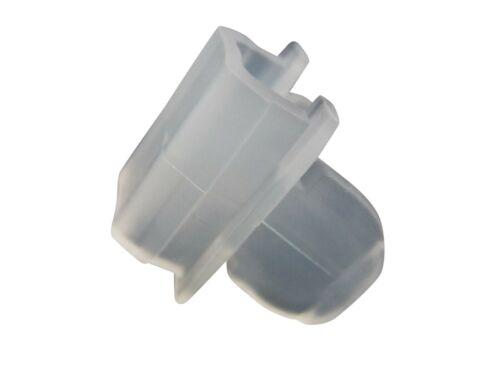 Verschlußstopfen rewagi 10 Stück Endfeststeller für Vierkantloch 9 x16mm
