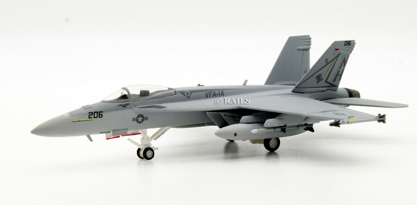HOGAN WINGS 1 200 6290 F A-18E US NAVY VFA-14  TOPHATTERS  CVW 11 NAS LEMOORE
