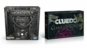 Game of Thrones 2er BUNDLE - Monopoly + Cluedo Brettspiel Gesellschaftsspiel